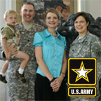 US Army Tanya Biank Family
